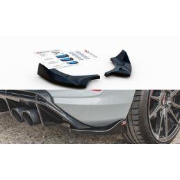 Maxton design Lames De Pare-Chocs Arrière latérales Ford Fiesta Mk8 St Carbon Look