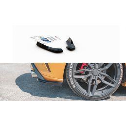 Lames De Pare-Chocs Arrièrelatérales V.2 Ford Focus St Mk4  Carbon Look