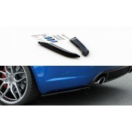 Lames De Pare-Chocs Arrièrelatérales V.1 Audi Rs4 Sedan B7 Carbon Look