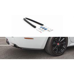 Lames De Pare-Chocs Arrièrelatérales Jaguar Xj X351 Carbon Look