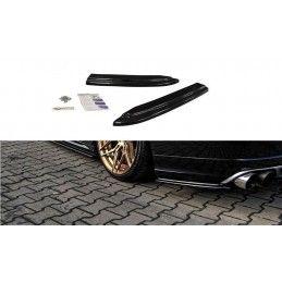 Lame Du Pare-Chocs Arriere Audi S8 D4 FL Noir Brillant, A8/S8 D4