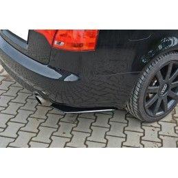 Lame Du Pare Chocs Arrière Audi A4 B7 Gloss Black