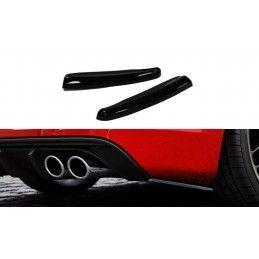 Lame Du Pare Chocs Arrière Audi S3 / A3 S-Line 8v Hatchback / Sportback Gloss Black