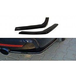 Maxton design Lame Du Pare Chocs Arrière Bmw 4 F32 M-Pack Gloss Black