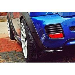 Lame Du Pare-Chocs Arrière Mini Cooper R56 Jcw Gloss Black