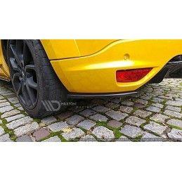 Lame Du Pare Chocs Arrière Renault Megane 3 Rs Gloss Black