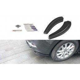 LAME DU PARE CHOCS ARRIERE Mazda 3 BN (Mk3) Facelift Noir Brillant, Mazda 3