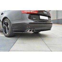 LAME DU PARE CHOCS ARRIERE Audi A6 C7 Avant Noir Brillant, A6/S6/RS6 4G C7