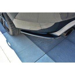 Lame Du Pare Chocs Arrière Volvo V60 Polestar Facelift Gloss Black