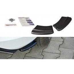 Lames De Pare-Chocs Arrièrelatérales V.1 Ford Fiesta Mk8 St-Line Gloss Black