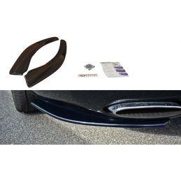 Maxton design Lame Du Pare-Chocs Arrière Bentley Continental Gt Gloss Black
