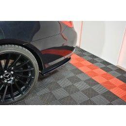 Maxton design Lame Du Pare-Chocs Arrière Mercedes-Benz E-Class W207 Coupe Amg-Line Gloss Black