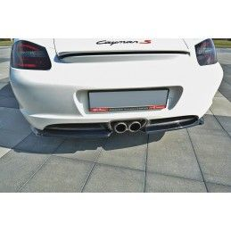 Lame Du Pare-Chocs Arrière Porsche Cayman S 987c  Gloss Black