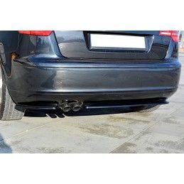 Lame Du Pare-Chocs Arrière Audi A3 Sportback 8p / 8p Facelift  Gloss Black