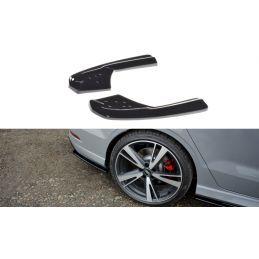 Lame Du Pare-Chocs Arriere Audi RS3 8V FL Sedan Noir Brillant, A3/S3/RS3 8V