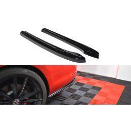 Lame Du Pare-Chocs Arrière V.1 Vw Golf 7 R Variant Facelift  Gloss Black