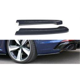 Lame Du Pare-Chocs Arrière Audi Rs4 B9 Avant Gloss Black