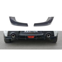 Maxton design Lame Du Pare-Chocs Arrière Suzuki Swift 6 Sport Gloss Black