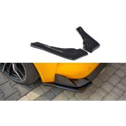 Maxton design Lame Du Pare-Chocs Arrière V.1 Toyota Supra Mk5 Gloss Black