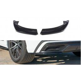 Lame Du Pare-Chocs Arrière  Audi Q8 S-Line Gloss Black