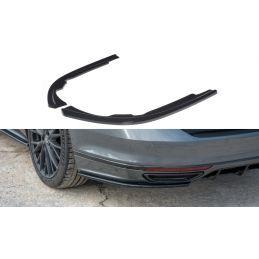 Lame Du Pare-Chocs Arrière  Volkswagen Passat R-Line B8 Gloss Black