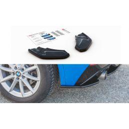 Maxton design Lame Du Pare-Chocs Arrière Bmw X2 F39 M-Pack Gloss Black