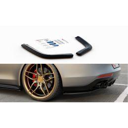 Lames De Pare-Chocs Arrièrelatérales Porsche Panamera Turbo / Gts 971 Gloss Black