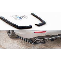 Lames De Pare-Chocs Arrièrelatérales Mercedes-Benz E63 Amg Estate S213 Gloss Black