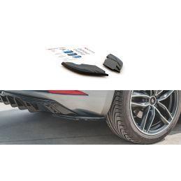 Lames De Pare-Chocs Arrièrelatérales Seat Leon Mk3 Fr Facelift Gloss Black