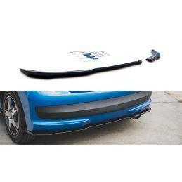 Maxton design Lames De Pare-Chocs Arrière latérales Peugeot 207 Sport Gloss Black