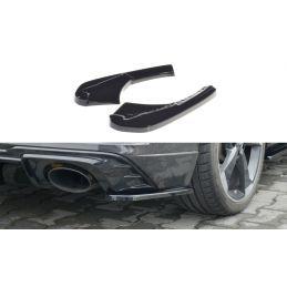 Lame Du Pare-Chocs Arriere Audi RS3 8V FL Sportback Noir Brillant, A3/S3/RS3 8V