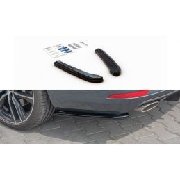 Maxton design Lame Du Pare-Chocs Arrière V.1 Seat Leon Cupra Mk3 Fl Sportstourer Textured