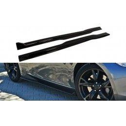 Rajouts Des Bas De Caisse Pour Nissan 370z Carbon Look