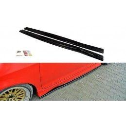 Rajouts Des Bas De Caisse Pour Honda Jazz Mk1 Carbon Look