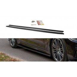 Maxton design Rajouts Des Bas De Caisse Pour Bmw 5 G30/ G31 M-Pack Carbon Look
