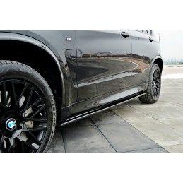 Set Des Diffuseur Des Bas De Caisse Bmw X5 F15 M50d Carbon Look
