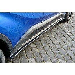Set Des Diffuseur Des Bas De Caisse Toyota C-Hr  Carbon Look