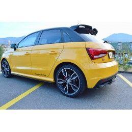 Rajouts Des Bas De Caisse Pour Audi S1 8X Look Carbone, A1 8X