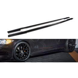 Set Des Diffuseur Des Bas De Caisse Bmw 1 E81/ E87 Facelift Carbon Look