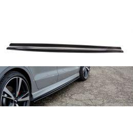 Maxton design Set Des Diffuseur Des Bas De Caisse Audi Rs3 8v Fl Sedan Carbon Look