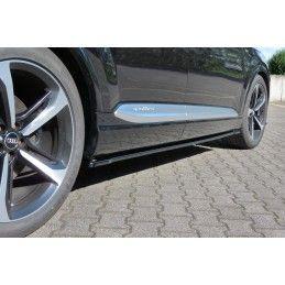 Rajouts Des Bas De Caisse Pour Audi SQ7 / Q7 S-Line Mk.2 Look Carbone, Q7 / SQ7