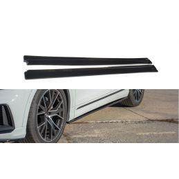 Set Des Diffeuseur Des Bas De Caisse Audi Q8 S-Line Carbon Look