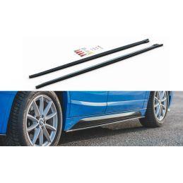 Maxton design Rajouts Des Bas De Caisse Bmw X2 F39 M-Pack Carbon Look