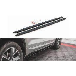 Rajouts Des Bas De Caisse Skoda Kodiaq Mk1 Sportline/Rs Carbon Look
