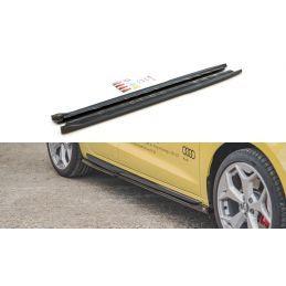 Rajouts Des Bas De Caisse Audi A1 S-Line GB Look Carbone, A1 GB 2018-