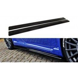 Maxton design Rajouts Des Bas De Caisse Pour Alfa Romeo 147 Gta Gloss Black