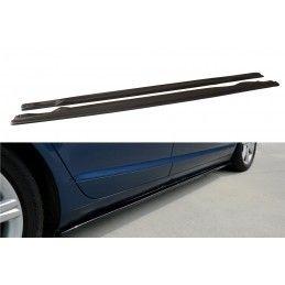 Rajouts Des Bas De Caisse Pour Audi A6 C6 S-Line (avant Facelift/Facelift) Gloss Black