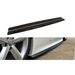 Maxton design Rajouts Des Bas De Caisse Pour Audi Tt Rs 8j Gloss Black