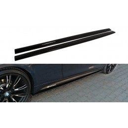 RAJOUTS DES BAS DE CAISSE POUR BMW 4 F32 M-PACK Noir Brillant, Serie 4 F32/ M4