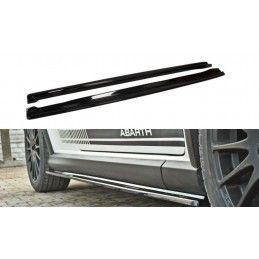 Maxton design Rajouts Des Bas De Caisse Pour Fiat Grande Punto Abarth Gloss Black